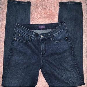 NYDJ Skinny Stretch Dark Jeans